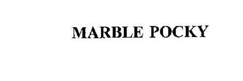 MARBLE POCKY