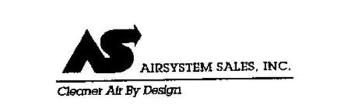AS AIRSYSTEM SALES, INC. CLEANER AIR BYDESIGN