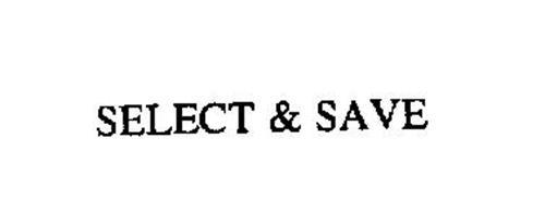 SELECT & SAVE