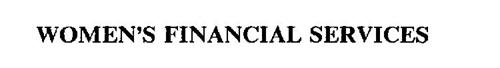 WOMEN'S FINANCIAL SERVICES