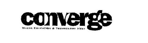 CONVERGE WHERE EDUCATION & TECHNOLOGY MEET