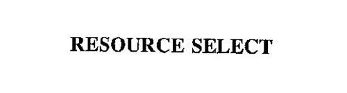 RESOURCE SELECT