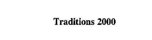 TRADITIONS 2000