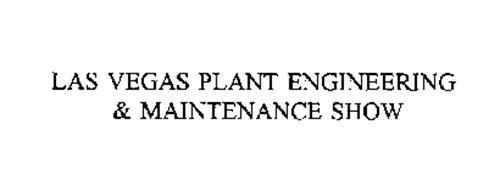 LAS VEGAS PLANT ENGINEERING & MAINTENANCE SHOW