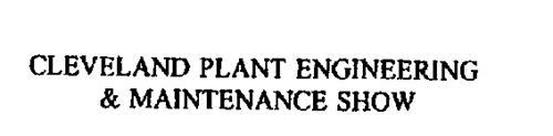 CLEVELAND PLANT ENGINEERING & MAINTENANCE SHOW