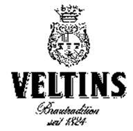 VELTINS BRAUTRADITION SEIT 1824 AND DESIGN