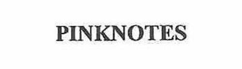 PINKNOTES