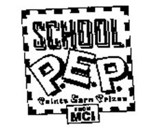 SCHOOL PEP POINTS EARN PRIZES FROM MCI