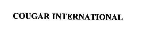 COUGAR INTERNATIONAL
