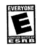 E EVERYONE CONTENT RATED BY ESRB