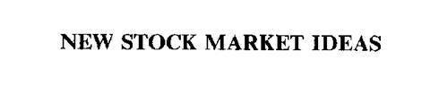 NEW STOCK MARKET IDEAS