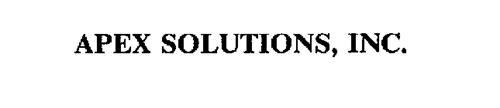 APEX SOLUTIONS, INC.