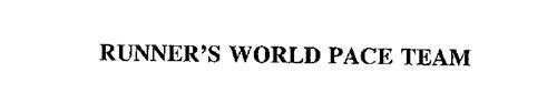 RUNNER'S WORLD PACE TEAM