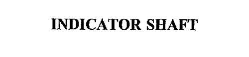 INDICATOR SHAFT