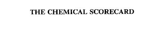 THE CHEMICAL SCORECARD