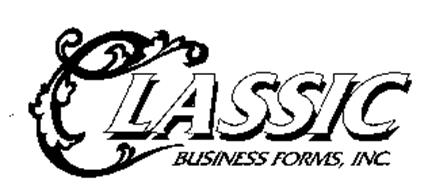 CLASSIC BUSINESS FORMS, INC.