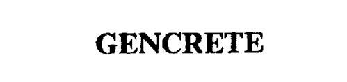 GENCRETE