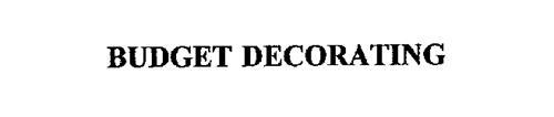 BUDGET DECORATING