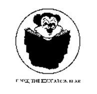 EDDIE, THE EDUCATION BEAR