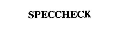SPECCHECK