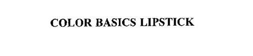COLOR BASICS LIPSTICK
