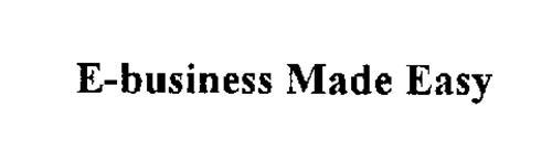 E-BUSINESS MADE EASY