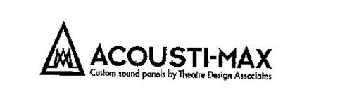 ACOUSTI-MAX CUSTOM SOUND PANELS BY THEATRE DESIGN ASSOCIATES