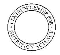 CENTRUM CENTER FOR NUTRITIONAL SCIENCE