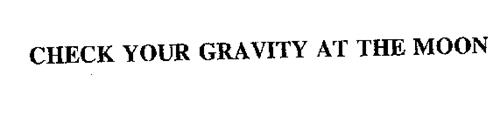 CHECK YOUR GRAVITY AT THE MOON