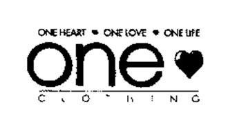 ONE HEART ONE LOVE ONE LIFE ONE CLOTHING