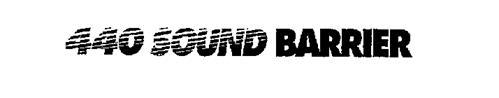 440 SOUND BARRIER