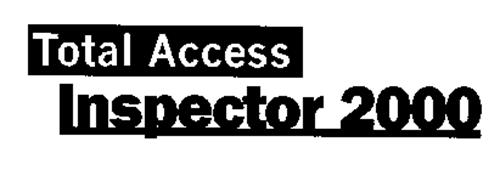 TOTAL ACCESS INSPECTOR 2000