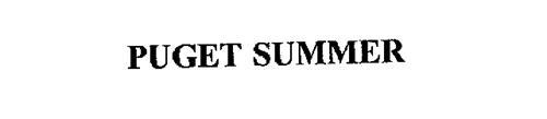 PUGET SUMMER