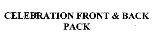 CELEBRATION FRONT & BACK PACK