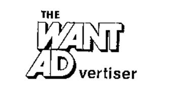 THE WANT ADVERTISER