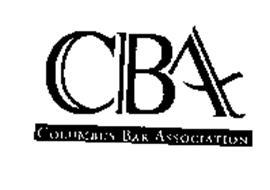CBA COLUMBUS BAR ASSOCIATION