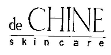 DE CHINE SKINCARE