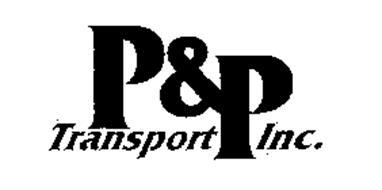 P & P TRANSPORT INC.