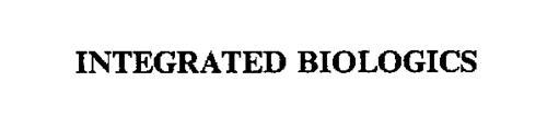 INTEGRATED BIOLOGICS