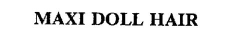 MAXI DOLL HAIR