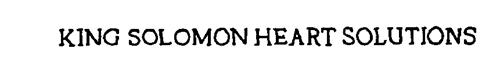 KING SOLOMON HEART SOLUTIONS