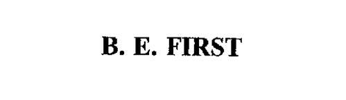 B. E. FIRST