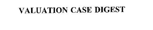 VALUATION CASE DIGEST