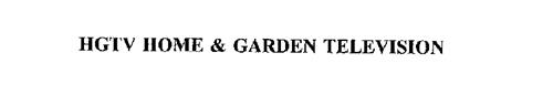 HGTV HOME & GARDEN TELEVISION