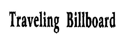 TRAVELING BILLBOARD