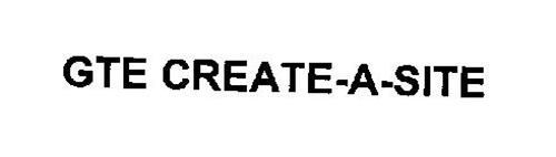 GTE CREATE-SITE