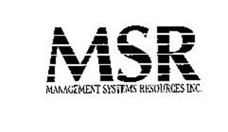 MSR MANAGEMENT SYSTEMS RESOURCES INC.