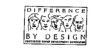 DIFFERENCE BY DESIGN CUSTOMIZED GROUP DEVELOPMENT CONSULTING