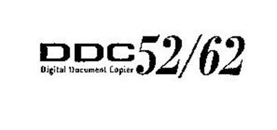 DDC 52/62 DIGITAL DOCUMENT COPIER