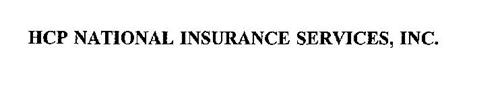 HCP NATIONAL INSURANCE SERVICES, INC.